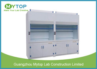 6 Ft Non Steel PP Laboratory Fume Hood For Chemical Harmful Gas Ventilation