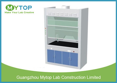Chemical Resistance Laboratory Fume Hood / Fume Cupboard Anti - Corrosion