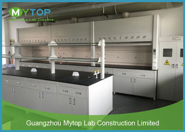 Modern Modular Lab Benches , Steel Structure School Laboratory Furniture